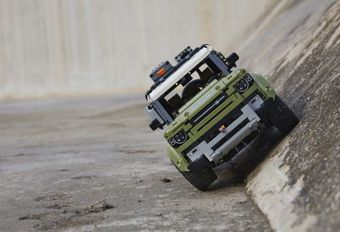 Land Rover Defender ook in Lego #1