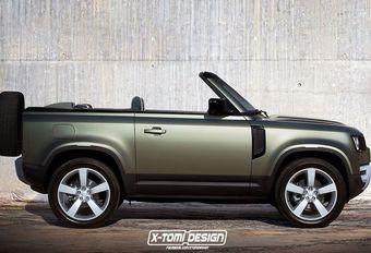 Land Rover Defender: wat geeft dat als cabrio? #1