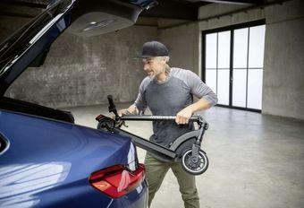 BMW ne résiste pas à l'e-scooter #1