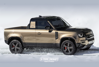 Geen pick-up voor de Land Rover Defender? #1