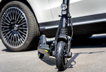 Mercedes: gamma verwelkomt e-scooter #1