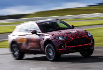 Aston Martin dévoile le moteur du DBX #1