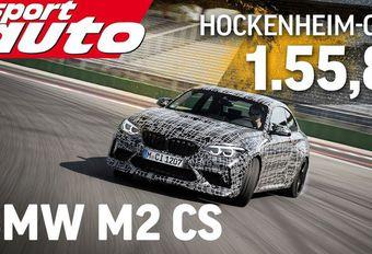 Une BMW M2 CS a tourné à Hockenheim #1