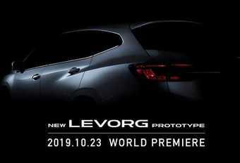 Subaru Levorg : le prototype de 2e génération à Tokyo #1