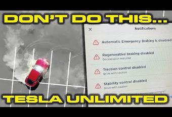 Tesla Model S: donuts zijn mogelijk! #1
