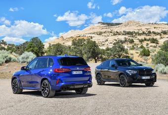 BMW X5/X6 M : encore plus rapides en Competition #1