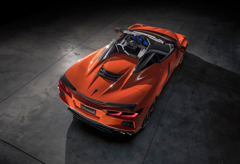 Chevrolet Corvette C8 Convertible introduceert hardtop #1
