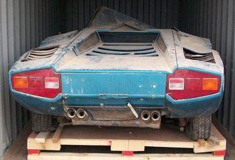 Une Lamborghini Countach Periscopio retrouvée après 40 ans #1