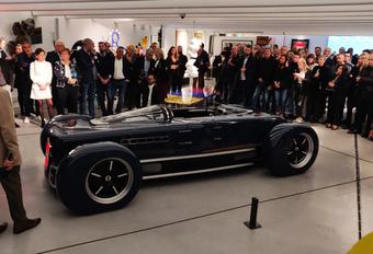 Krugger FD is Belgische retroroadster met biturbo-W12 van Bentley #1