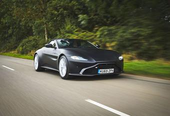 Aston Martin Vantage: ook als Roadster #1