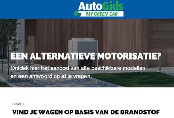 Website My Green Car introduceert zoekfunctie op basis van brandstof #1