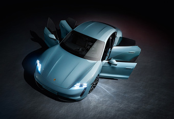 Porsche Taycan nu ook als 4S #1
