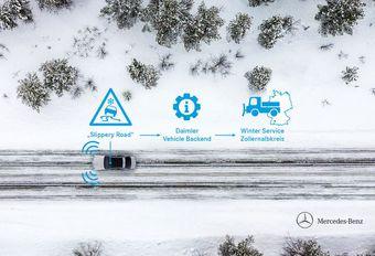 Mercedessen gaan ijzel detecteren in de Schwäbische Alb #1