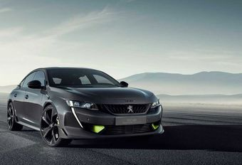 Peugeot 508 Sport Engineered : bon de sortie #1