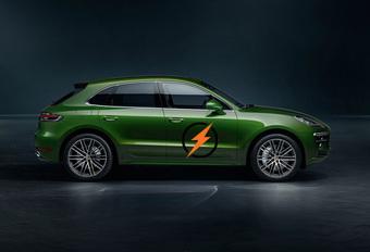 Porsche bevestigt elektrische Macan #1