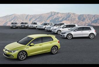 Volkswagen Golf 8 : elle se montre complètement #1