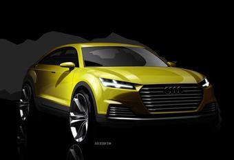 Audi TT wordt EV met RWD, maar wel als SUV #1