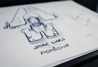 Porsche maakt een ruimteschip voor Star Wars #1
