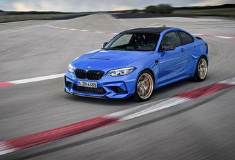 BMW M2 CS : fuite de carbone #1