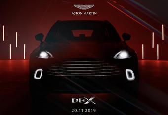 Aston Martin DBX : l'intérieur et le prix #1