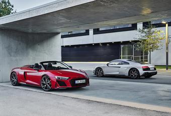 Audi R8 devient propulsion #1