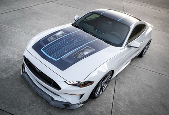 Best of SEMA 2019: Ford Mustang Lithium #1