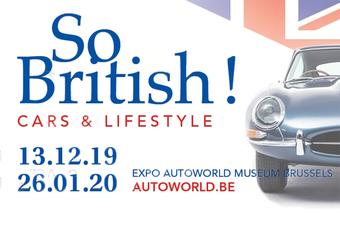 So British : les voitures britanniques à Autoworld
