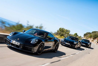 Porsche toont de nieuwe 911 Turbo en Turbo Cabrio #1