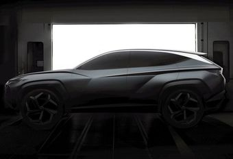 Salon de Los Angeles : concept du futur Hyundai Tucson ? #1
