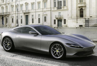 Ferrari presenteert elegante Roma in Rome - update #1