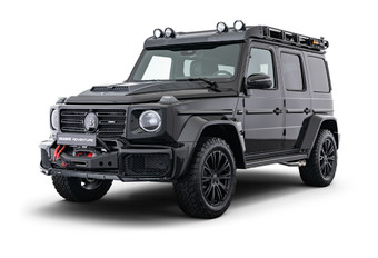 Brabus Adventure G-Class : commando de luxe #1