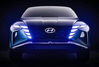 Hyundai Vision met de T van Tucson #1