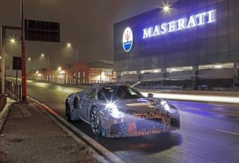 Maserati toont mule met eigen aandrijflijn #1