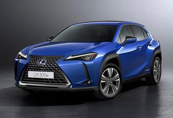 Lexus UX : la version électrique 300e #1