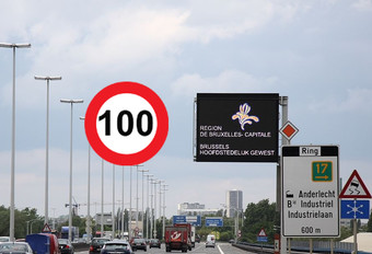 100 km/u op Brusselse Ring #1