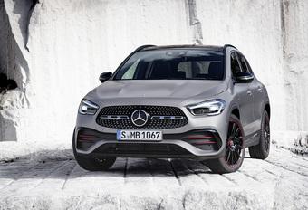 Mercedes GLA: A-Klasse met modderlaarzen #1