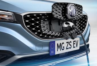 MG maakt Belgische comeback met elektrische ZS EV  #1