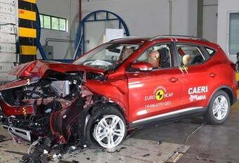 EuroNCAP zet de elektrische MG ZS EV tegen de muur #1