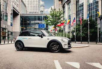 DriveNow in Brussel stopt ermee #1