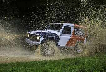 Jaguar Land Rover rachète Bowler #1