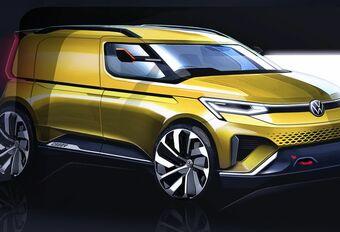 Nieuwe VW Caddy staat niet op Autosalon, wel in Genève #1