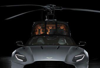 Aston Martin prend l'hélicoptère avec Airbus #1
