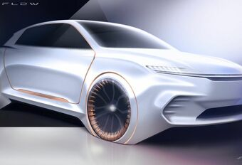 Chrysler Airflow Vision : pour interagir à bord #1
