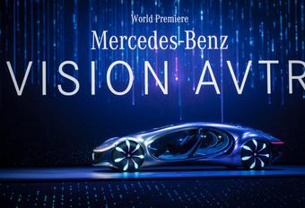 Mercedes Vision AVTR : en direct de Pandora #1