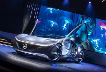 Mercedes Vision AVTR wil Golden Globes #1