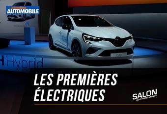 Vidéo - Salon Auto de Bruxelles 2020 - Les premières électriques #1