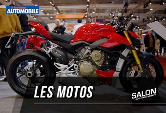 Vidéo - Salon Auto de Bruxelles 2020 - Les motos #1