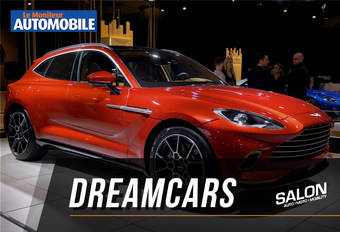 Vidéo - Salon Auto de Bruxelles 2020 - Les Dream Cars #1