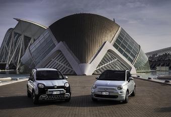 Fiat Panda et 500 en version hybride #1