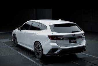 Subaru Levorg nu ook als STI Sport #1